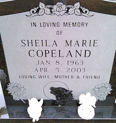 COPELAND, SHEILA MARIE - McNairy County, Tennessee   SHEILA MARIE COPELAND - Tennessee Gravestone Photos