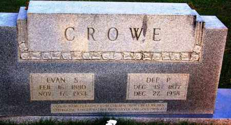CROWE, EVAN SIGFRIED - McNairy County, Tennessee | EVAN SIGFRIED CROWE - Tennessee Gravestone Photos