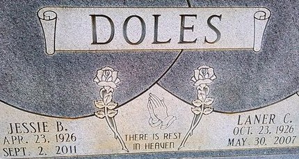 DOLES, LATER C. - McNairy County, Tennessee | LATER C. DOLES - Tennessee Gravestone Photos