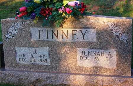 FINNEY, BUNNAH A - McNairy County, Tennessee   BUNNAH A FINNEY - Tennessee Gravestone Photos