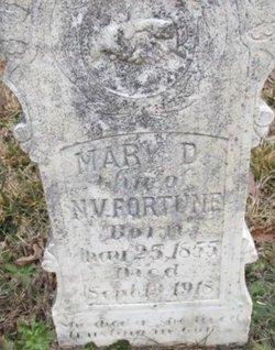 FORTUNE, MARY DULCINA - McNairy County, Tennessee | MARY DULCINA FORTUNE - Tennessee Gravestone Photos