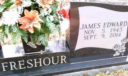 FRESHHOUR, JAMES EDWARD - McNairy County, Tennessee | JAMES EDWARD FRESHHOUR - Tennessee Gravestone Photos