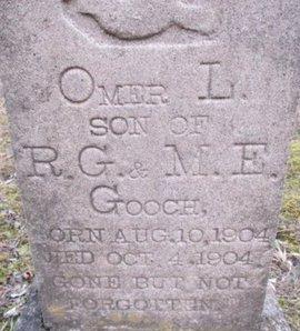 GOOCH, OMAR L. - McNairy County, Tennessee | OMAR L. GOOCH - Tennessee Gravestone Photos