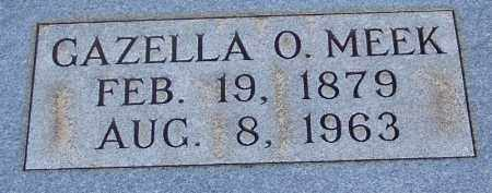 MEEK, GAZELLO O - McNairy County, Tennessee | GAZELLO O MEEK - Tennessee Gravestone Photos