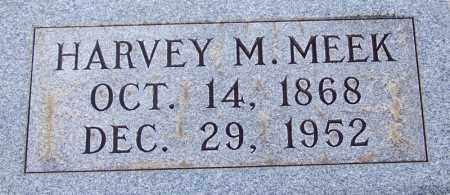 MEEK, HARVEY M - McNairy County, Tennessee | HARVEY M MEEK - Tennessee Gravestone Photos