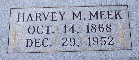 MEEK, HARVEY M - McNairy County, Tennessee | HARVEY M MEEK - Tennessee Gravestone Photos