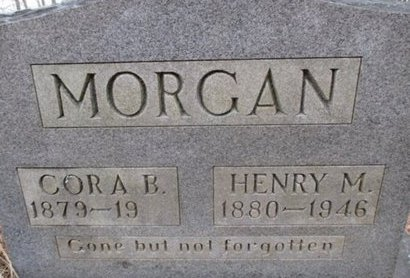 MORGAN, CORA BELLE - McNairy County, Tennessee | CORA BELLE MORGAN - Tennessee Gravestone Photos