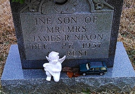 NIXON, INFANT SON - McNairy County, Tennessee | INFANT SON NIXON - Tennessee Gravestone Photos