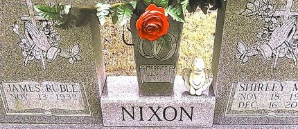 NIXON, JAMES RUBLE - McNairy County, Tennessee | JAMES RUBLE NIXON - Tennessee Gravestone Photos