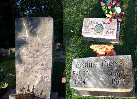 PUSSER, PAULINE - McNairy County, Tennessee | PAULINE PUSSER - Tennessee Gravestone Photos