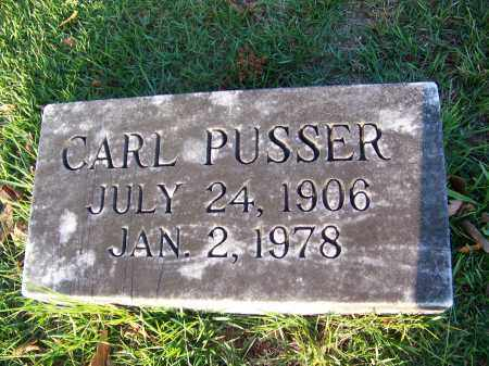 PUSSER, CARL - McNairy County, Tennessee | CARL PUSSER - Tennessee Gravestone Photos