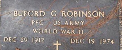 ROBINSON (VETERAN WWII), BUFORD G. - McNairy County, Tennessee | BUFORD G. ROBINSON (VETERAN WWII) - Tennessee Gravestone Photos