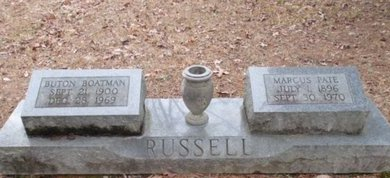 RUSSELL, BUTON - McNairy County, Tennessee | BUTON RUSSELL - Tennessee Gravestone Photos
