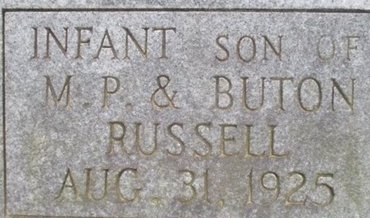 RUSSELL, SON - McNairy County, Tennessee | SON RUSSELL - Tennessee Gravestone Photos