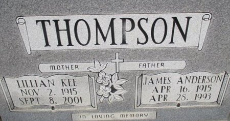 THOMPSON, LILLIAN - McNairy County, Tennessee | LILLIAN THOMPSON - Tennessee Gravestone Photos