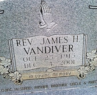 VANDIVER, JAMES H. - McNairy County, Tennessee | JAMES H. VANDIVER - Tennessee Gravestone Photos