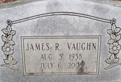 VAUGHN, JAMES R. - McNairy County, Tennessee | JAMES R. VAUGHN - Tennessee Gravestone Photos
