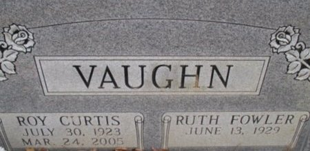 VAUGHN, ROY CURTIS - McNairy County, Tennessee | ROY CURTIS VAUGHN - Tennessee Gravestone Photos