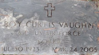 VAUGHN (VETERAN KOR), ROY CURTIS - McNairy County, Tennessee | ROY CURTIS VAUGHN (VETERAN KOR) - Tennessee Gravestone Photos