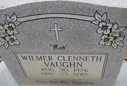 VAUGHN, WILMER CLENNETH - McNairy County, Tennessee | WILMER CLENNETH VAUGHN - Tennessee Gravestone Photos