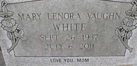 WHITE, MARY LENORA - McNairy County, Tennessee | MARY LENORA WHITE - Tennessee Gravestone Photos
