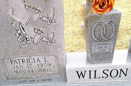 WILSON, PATRICIA L. - McNairy County, Tennessee | PATRICIA L. WILSON - Tennessee Gravestone Photos