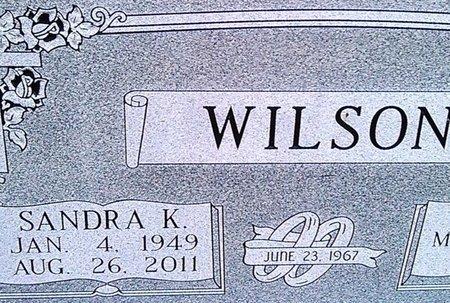WILSON, SANDRA K. - McNairy County, Tennessee | SANDRA K. WILSON - Tennessee Gravestone Photos
