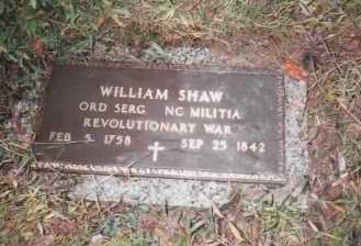 SHAW (VETERAN REV), WILLIAM - Moore County, Tennessee | WILLIAM SHAW (VETERAN REV) - Tennessee Gravestone Photos