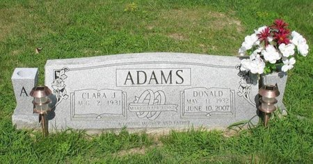 ADAMS, DONALD - Putnam County, Tennessee | DONALD ADAMS - Tennessee Gravestone Photos