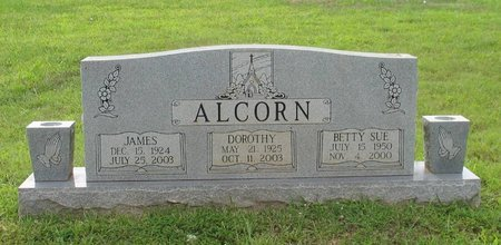 ALCORN, JAMES G. - Putnam County, Tennessee | JAMES G. ALCORN - Tennessee Gravestone Photos