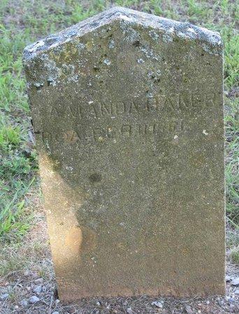 BAKER, AMANDA - Putnam County, Tennessee   AMANDA BAKER - Tennessee Gravestone Photos
