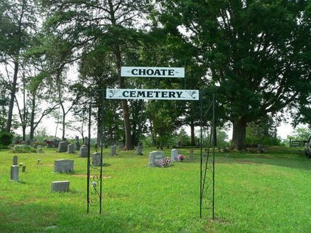*CHOATE OVERVIEW,  - Putnam County, Tennessee |  *CHOATE OVERVIEW - Tennessee Gravestone Photos