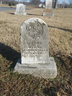 CARTER, INFANT DAUGHTER - Robertson County, Tennessee | INFANT DAUGHTER CARTER - Tennessee Gravestone Photos