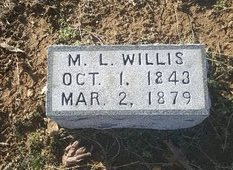 WILLIS, M.L. - Robertson County, Tennessee | M.L. WILLIS - Tennessee Gravestone Photos