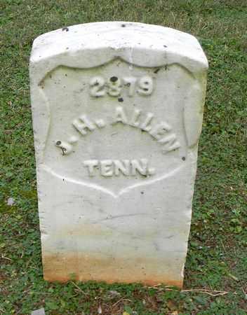 ALLEN  (VETERAN UNION), JAMES H. - Rutherford County, Tennessee | JAMES H. ALLEN  (VETERAN UNION) - Tennessee Gravestone Photos