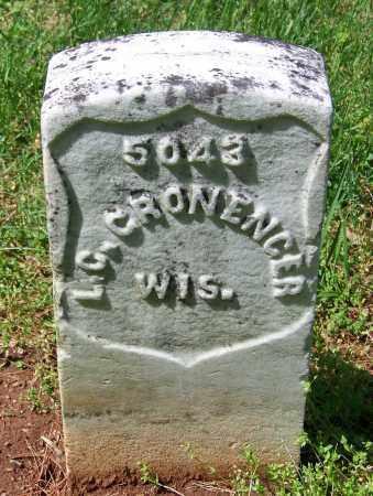CRONENGER  (VETERAN UNION), L. C. - Rutherford County, Tennessee | L. C. CRONENGER  (VETERAN UNION) - Tennessee Gravestone Photos