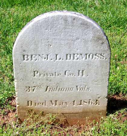 DEMOSS  (VETERAN UNION), BENJAMIN L. - Rutherford County, Tennessee | BENJAMIN L. DEMOSS  (VETERAN UNION) - Tennessee Gravestone Photos