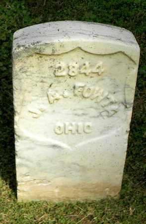 FOWTA  (VETERAN UNION), J. A. - Rutherford County, Tennessee | J. A. FOWTA  (VETERAN UNION) - Tennessee Gravestone Photos
