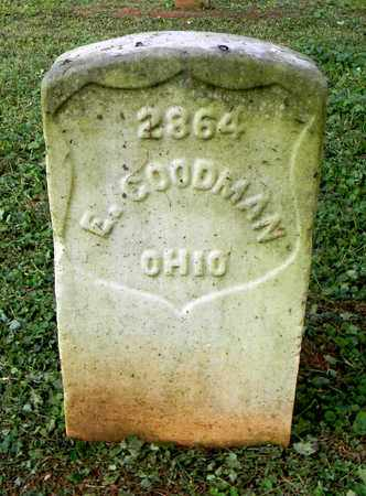 GOODMAN  (VETERAN UNION), E. - Rutherford County, Tennessee | E. GOODMAN  (VETERAN UNION) - Tennessee Gravestone Photos