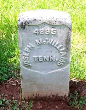 MCWILLIAMS  (VETERAN UNION), JOSEPH - Rutherford County, Tennessee   JOSEPH MCWILLIAMS  (VETERAN UNION) - Tennessee Gravestone Photos
