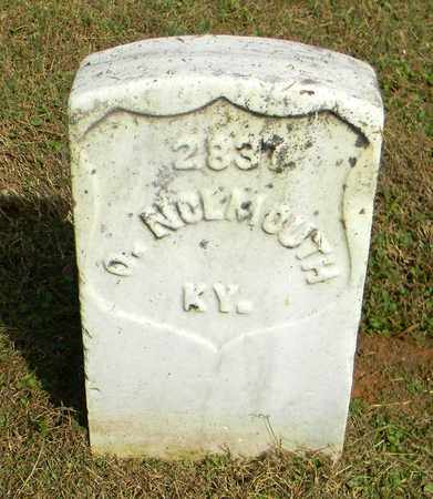 NOLMOUTH  (VETERAN UNION), O. - Rutherford County, Tennessee | O. NOLMOUTH  (VETERAN UNION) - Tennessee Gravestone Photos