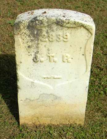 R.  (VETERAN UNION), J. T. - Rutherford County, Tennessee | J. T. R.  (VETERAN UNION) - Tennessee Gravestone Photos
