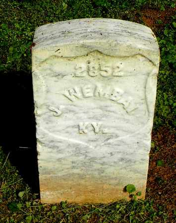 WEMBAL  (VETERAN UNION), J. - Rutherford County, Tennessee | J. WEMBAL  (VETERAN UNION) - Tennessee Gravestone Photos