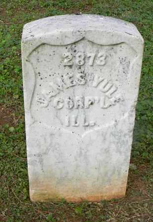 YULE  (VETERAN UNION), JAMES - Rutherford County, Tennessee | JAMES YULE  (VETERAN UNION) - Tennessee Gravestone Photos