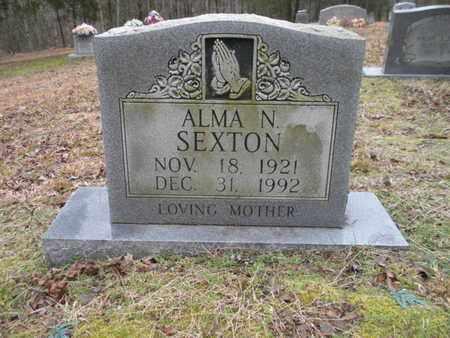 SEXTON, ALMA N - Scott County, Tennessee | ALMA N SEXTON - Tennessee Gravestone Photos