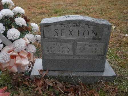 SEXTON, ARVIN - Scott County, Tennessee | ARVIN SEXTON - Tennessee Gravestone Photos