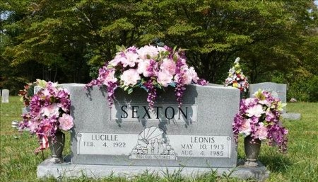 SEXTON, ELIZABETH LUCILLE - Scott County, Tennessee | ELIZABETH LUCILLE SEXTON - Tennessee Gravestone Photos