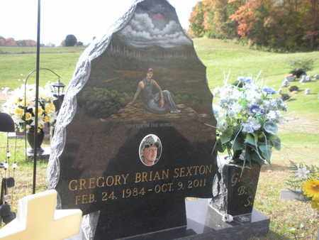 SEXTON, GREGORY BRIAN - Scott County, Tennessee | GREGORY BRIAN SEXTON - Tennessee Gravestone Photos