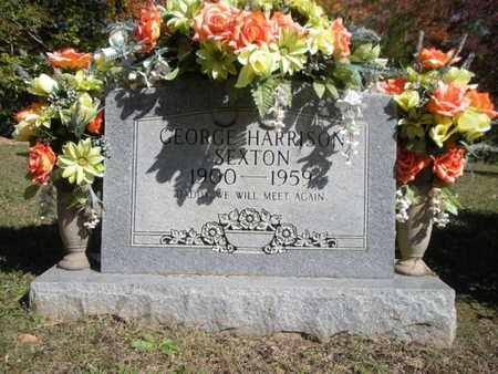 SEXTON, GEORGE HARRISON - Scott County, Tennessee   GEORGE HARRISON SEXTON - Tennessee Gravestone Photos