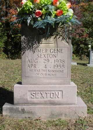 SEXTON, HOMER GENE - Scott County, Tennessee | HOMER GENE SEXTON - Tennessee Gravestone Photos